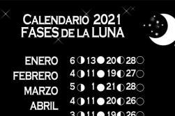 Calendario de lunas 2021