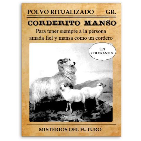 POLVOS CORDERITO MANSO  Comprar en ProductosEsotericos.com