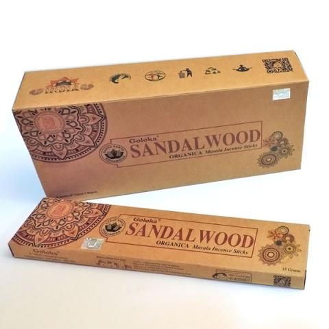 INCIENSO ORGANIC SANDALWOOD| Comprar en ProductosEsotericos.com