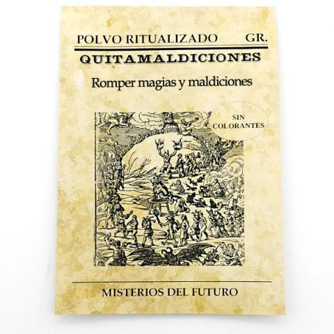 POLVOS QUITA MALDICIONES| Comprar en ProductosEsotericos.com