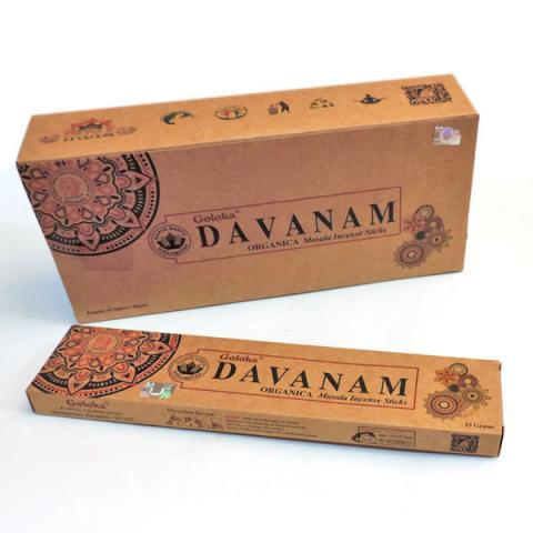 INCIENSO ORGANIC DAVANAM| Comprar en ProductosEsotericos.com