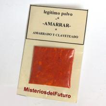 POLVO DE AMARRADO Y CLAVETEADO reforzador relacion