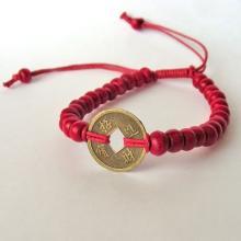 PULSERA I CHING (Rojo)| Comprar en ProductosEsotericos.com